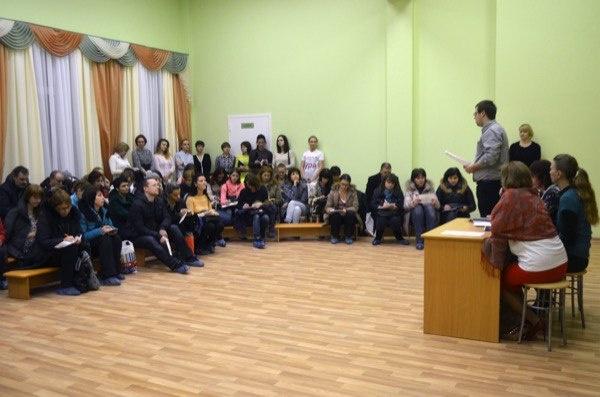 В ДО Кудровская СОШ №1 состоялось первое родительское собрание