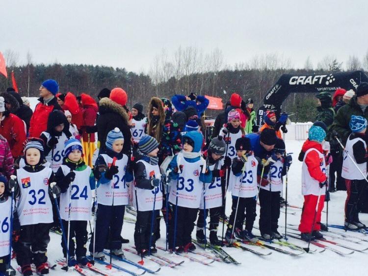 Состоялось открытое первенство по лыжным гонкам в МО «Кузьмоловское ГП»