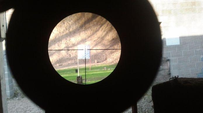 На полигоне в Сертолово показали снайперскую дуэль