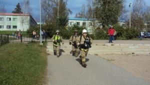 Агалатовскую школу эвакуировали в рамках учебного пожара