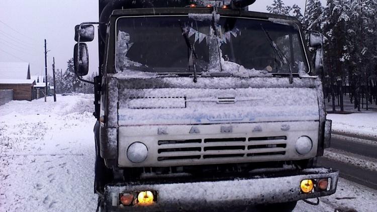 КамАЗ задавил пенсионерку на Колтушском шоссе