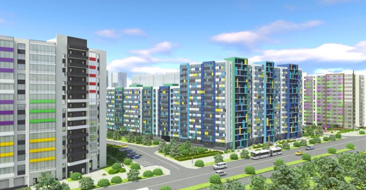 В ЖК «Вернисаж» введены в эксплуатацию 1 и 4 дом