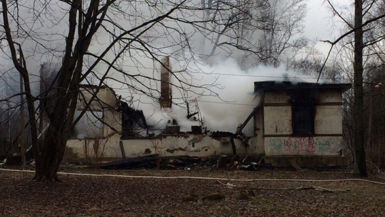 В уничтожении Дома Павлова заподозрили поджигателей