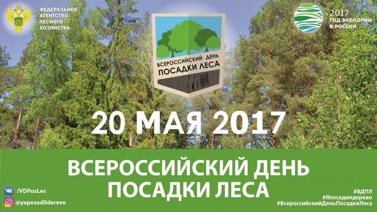 20 мая любой желающий сможет посадить дерево