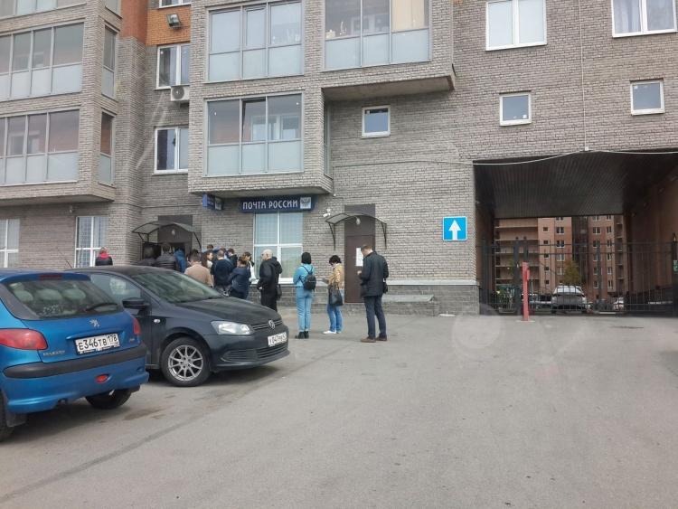 Жители Кудрово жалуются на большие очереди в почтовое отделение