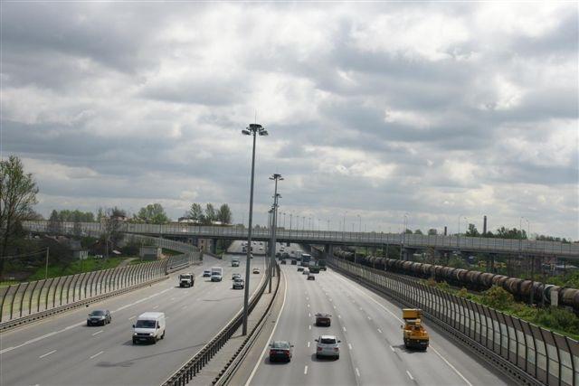 На развязке КАД с Рябовским шоссе полностью перекроют съезд