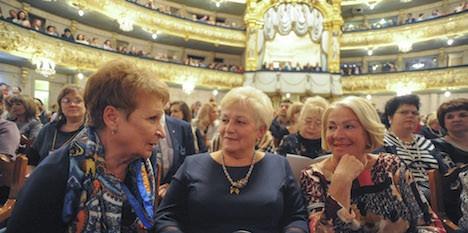 Педагогов Ленобласти поздравили с Днем учителя на сцене Мариинского театра