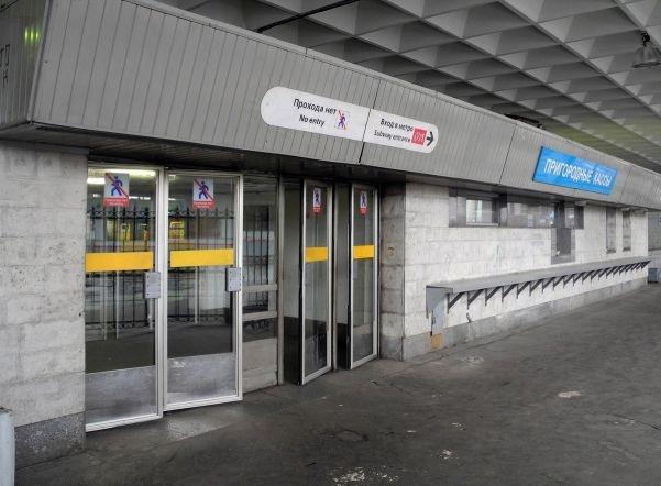 Станцию метро «Девяткино» закрывали из-за бесхозного пакета