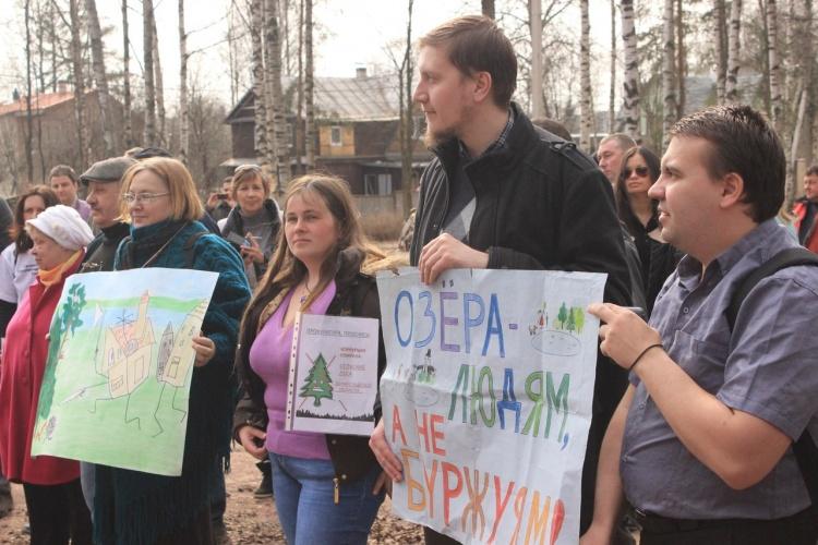 В Ленинградской области пройдет серия одиночных пикетов