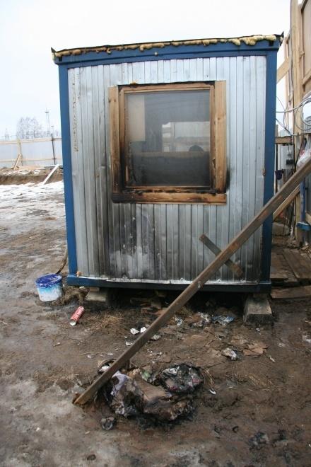 Возбуждено уголовное дело по факту поджога на стройплощадке ЖК «Олимпийский» на Колтушских высотах