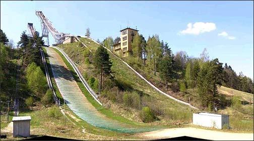 В Токсово планируется построить трамплин для прыжков на лыжах