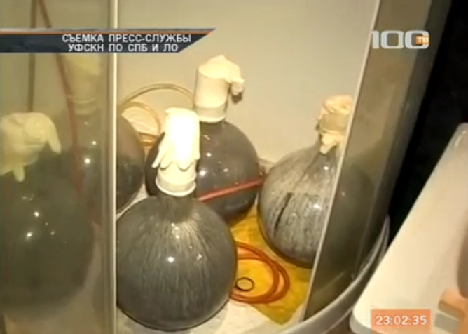 Во Всеволожском районе ликвидировали лабораторию по производству амфетамина (видео)