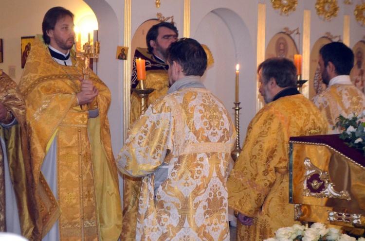Прихожане Храма Иоанна Богослова в Кудрово отметили День памяти святого