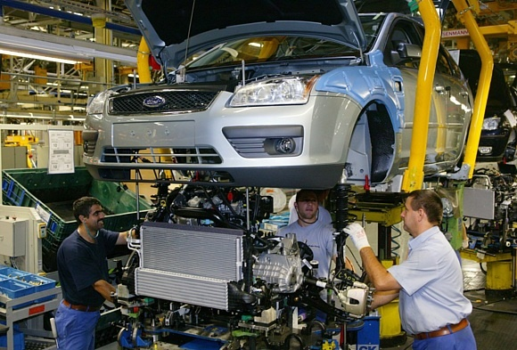 Завод Ford во Всеволожске приступит к выпуску обновленных моделей Mondeo и Focus в 2015 году