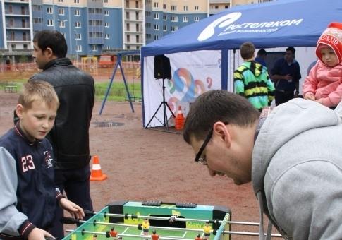 «Ростелеком» завершил сезон «Чемпионат двора» праздником в Кудрово