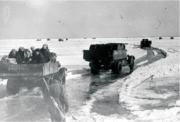 В честь 73-летия со дня начала работы Ледовой трассы Дороги жизни состоится встреча ветеранов