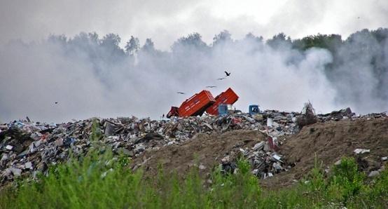 Жители поселка им. Свердлова против незаконной свалки промышленных отходов