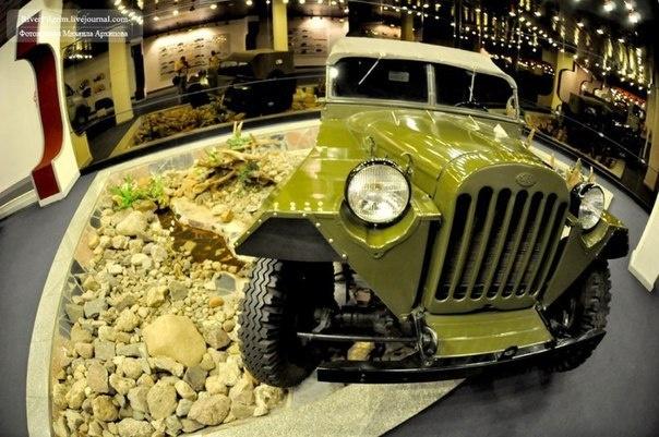 В Мурино работает музей старинных автомобилей и мотоциклов
