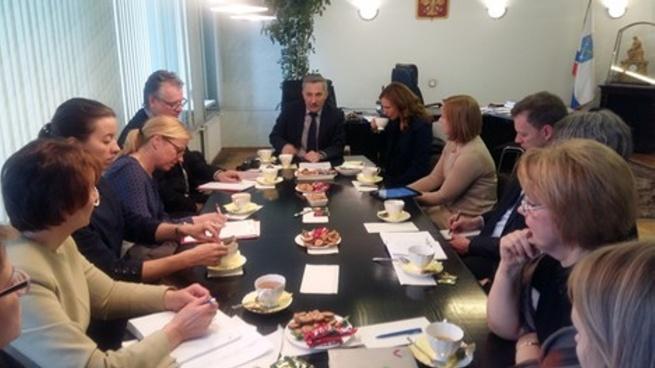 Служащие Королевства Норвегия стажировались в Ленинградской области