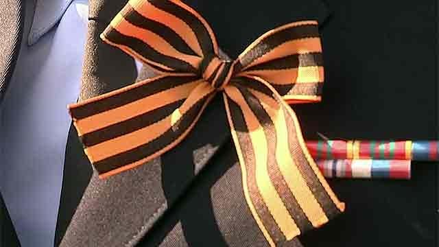 В Ленобласти георгиевские ленточки раздадут вместе с памяткой о ношении