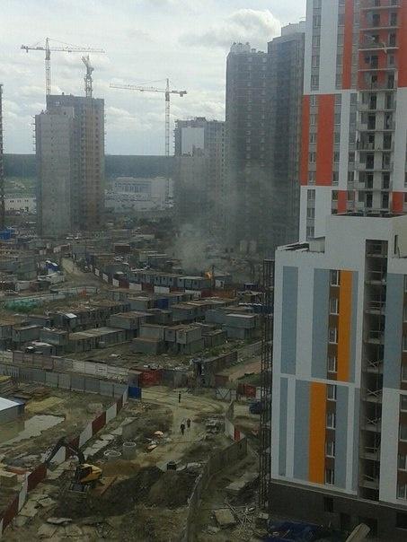 Из-за городков мигрантов в Кудрово оштрафовали застройщиков
