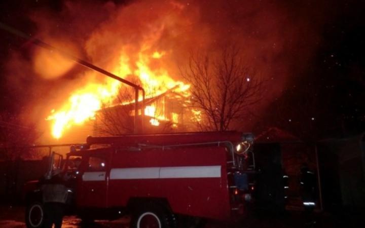 Во Всеволожском районе при пожаре погиб человек