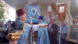 Праздник Августовской иконы Богородицы встретили в единственном в России храме, посвященном этому образу