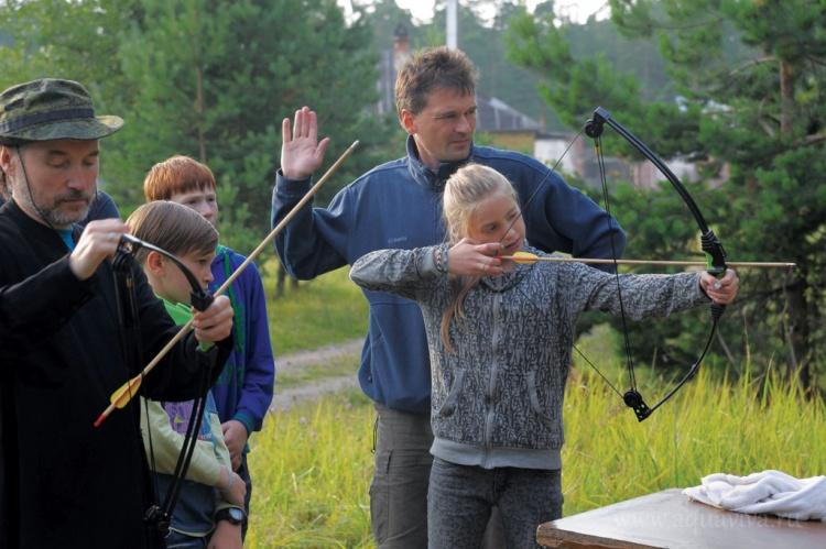 Отчёт о проведении летнего лагеря для детей Всеволожского благочиния на острове Коневец
