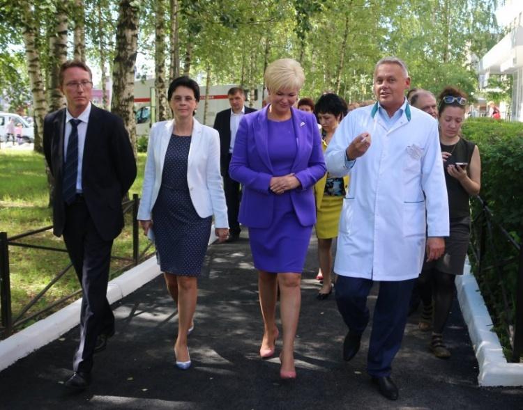 Заместитель Министра здравоохранения высоко оценила Всеволожскую больницу