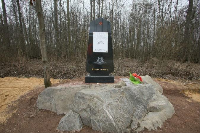 Могила известного солдата