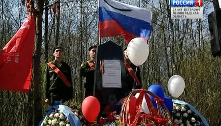 Во Всеволожском районе увековечили защитников ленинградского неба