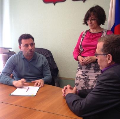 Михаил Ицкович провел рабочую встречу с депутатом ЗакС Саядом Алиевым