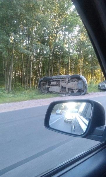 ДТП на Дороге жизни спровоцировало пробку