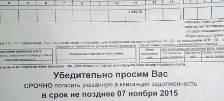 Жителей поселка им. Свердлова техническая ошибка сделала должниками