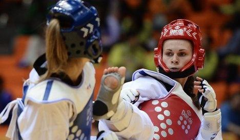 Милана Дрямова — чемпионка России по тхэквондо
