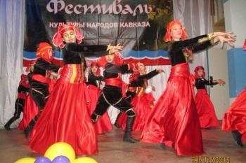 На сцене «Райволы» танцевали лезгинку