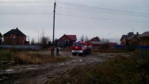 В посёлке имени Свердлова горели гаражи