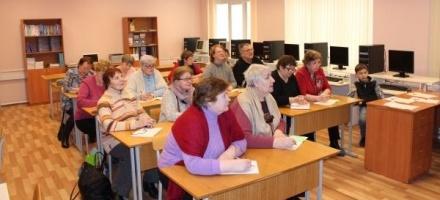 В Янино члены Общества инвалидов осваивают технологии