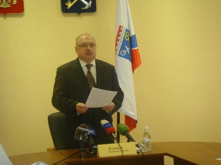 Глава областного избиркома Владимир Журавлев