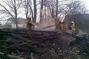 Во Всеволожском районе Ленобласти горел частный дом