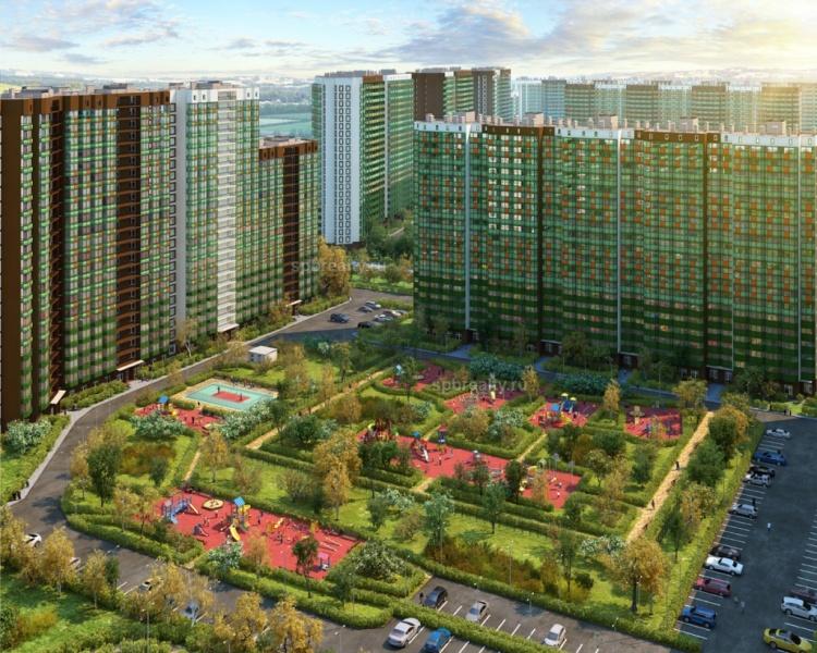 На рынок недвижимости выведены квартиры в очередном квартале новостройки «GREENЛандия»