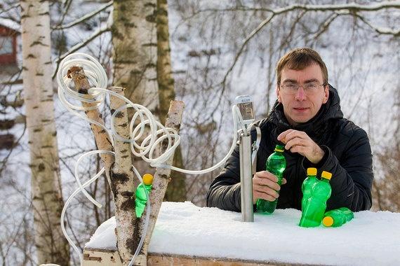 Бывший энергетик из Петербурга занялся сбором и продажей березового сока
