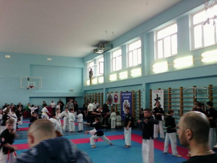Отборочные соревнования Федерации Кобудо Санкт-Петербурга и СЗФО по ВБЕ Кобудо
