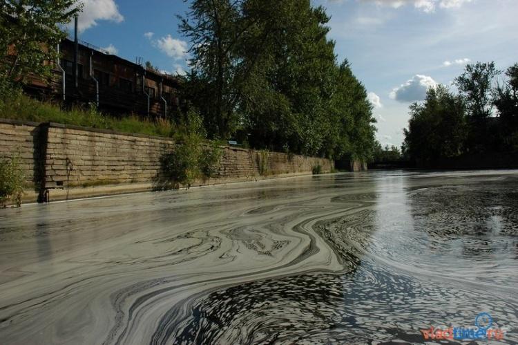 В Касимово боятся экологической катастрофы из-за застройки берега Охты
