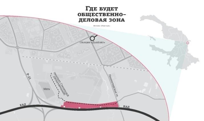 В Кудрово построят магазины, бизнес-центры и развлекательные комплексы за 1,5 млрд рублей