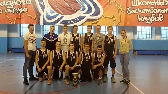 Выборгские баскетболисты завоевали золото на первенстве Ленинградской области