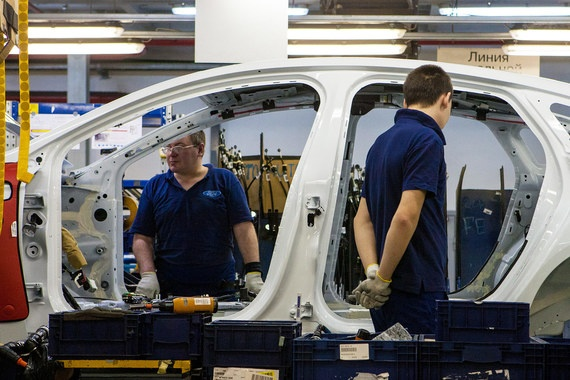 На 50% сократилось производство на заводах Ford Sollers во Всеволожске и Елабуге