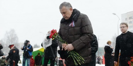 Глава 47-го региона Александр Дрозденко поздравил воинов-интернационалистов