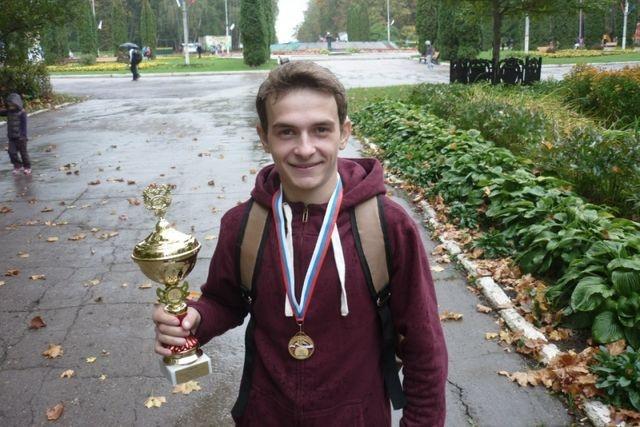 Алексей Дорофеев — чемпион России по горному бегу