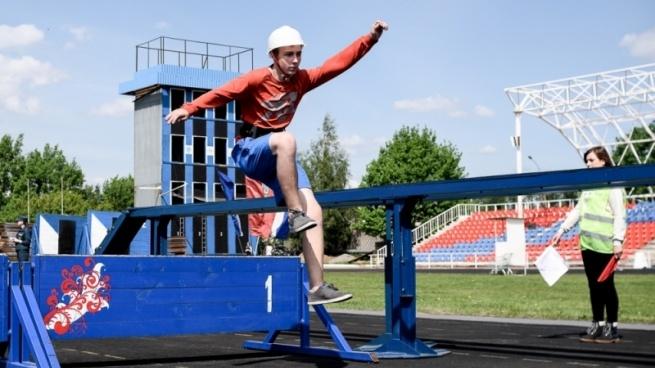 В Ленинградской области прошли соревнования добровольных пожарных